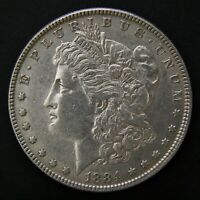 1884  MORGAN DOLLAR LIGHTLY CIRCULATED PHILADELPHIA MINT