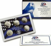 2005 S STATE QUARTER PROOF SET  GORGEOUS DETAILS PERFECT