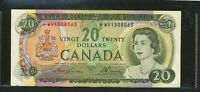 1969 BANK OF CANADA $20 REPLACEMENT  WV LAWSON BOUEY. BC 50BA. EF