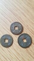 OLD CHINESE COINS ANTIQUE JOBLOT