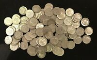 LOT OF 100 ROOSEVELT DIMES 90  SILVER $10 FACE.