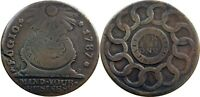1787 FUGIO COPPER NEWMAN 12 M LOVELY VF BOLD LEGENDS AND DAT