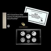 2012 SILVER  ONE OWNER  PROOFS STATE PARKS WASHINGTON QUARTE
