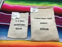 US MINT BAG OF PRESIDENTIAL $1.00 COINS  THOMAS JEFFERSON  D