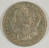 1895-S MORGAN SILVER DOLLAR $1 EXTRA FINE  EF  FINE DETAILS SCRATCHED  DATE