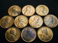 1 ROLL OF 1948-S UNCIRCULATED LINCOLN PENNIES.  CHECK PICTURES FOR FLAWS.  AAH