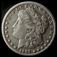 1901-O MORGAN 90 SILVER DOLLAR SHIPS FREE. BUY 5 FOR $2 OFF