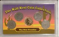THE WILD WEST COIN COLLECTION | THE NEW FRONTIER | V NICKEL IN LENS RC16697