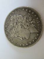 1897-O VAM 12 O TILTED RIGHT LOW NEAR DATE MORGAN SILVER DOLLAR