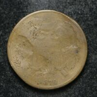 1870 TWO CENT PIECE DAMAGED BB3140