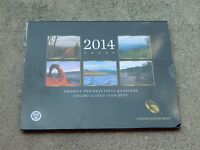 2014 AMERICA THE BEAUTIFUL QUARTERS UNCIRCULATED COIN SET