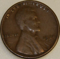 1924-S 1C LINCOLN WHEAT CENT 17URL2404 ONLY 50 CENTS FOR SHIPPING