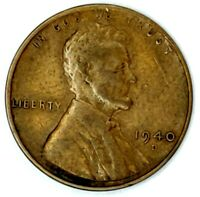 1940-D 1C LINCOLN WHEAT CENT 19LT0921-2 ONLY 50 CENTS FOR SHIPPING