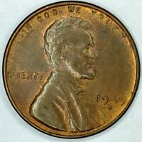 1949-S 1C LINCOLN WHEAT CENT 19OT0402 UNC R/B ONLY 50 CENTS FOR SHIPPING