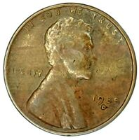 1935-D 1C LINCOLN WHEAT CENT 18LL1003 ONLY 50 CENTS FOR SHIPPING