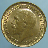 1928 GEORGE V FARTHING   BORDELINE GEM RED & BROWN UNCIRCULATED