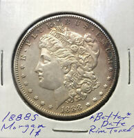 1888 S MORGAN DOLLAR  BETTER DATE  STRONGLY DETAILED COIN