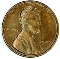 1942-S 1C LINCOLN WHEAT CENT 18RR0915 ONLY 50 CENTS FOR SHIPPING