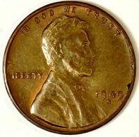 1948-S 1C LINCOLN WHEAT CENT 18US0708-2 UNC ONLY 50 CENTS FOR SHIPPING