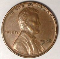 1952-P 1C LINCOLN WHEAT CENT 17SR2310-3 UNC ONLY 50 CENTS FOR SHIPPING