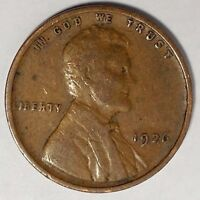 1926-P 1C LINCOLN WHEAT CENT 17SR0910-1 ONLY 50 CENTS FOR SHIPPING