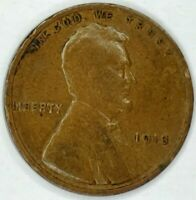 1913-P 1C LINCOLN WHEAT CENT 17RR0811-1 ONLY 50 CENTS FOR SHIPPING
