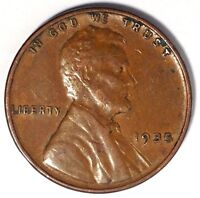 1935-P 1C LINCOLN WHEAT CENT 17RR1809-2 UNC ONLY 50 CENTS FOR SHIPPING