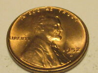 1952-D, 1955-D & 1960-P SMALL DATE LINCOLN HEAD CENTS BU