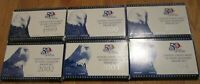 1999 2000 01 02 03.2004 PROOF STATE QUARTERS 6 COMPLETE PROO