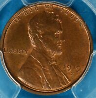 1919-S LINCOLN WHEAT CENT PCGS MINT STATE 64BN- SOME RED, PQ FOR THE GRADE