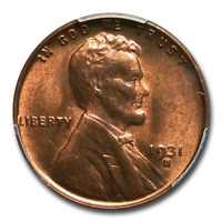 1931-S LINCOLN CENT MINT STATE 65 PCGS RED/BROWN - SKU201251