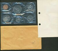 1969 CANADA PROOFLIKE PL MINT SEALED 6 COIN SET.