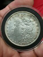 1879-P MORGAN DOUBLED 9 VAM VARIETY SIVER ONE DOLLAR UNCIRCULATED COIN