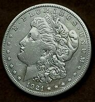 1921-S MORGAN SILVER DOLLAR, FREE PROMPT SHIPPING