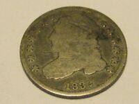 1832 CAPPED BUST DIME VG