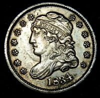 1834 CAPPED BUST HALF DIME - EXTRA FINE