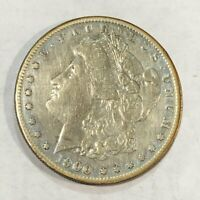 1900-S VF MORGAN SILVER DOLLAR. LOTUR2 OLD CLEANING