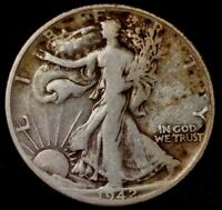 1942-D 50C WALKING LIBERTY HALF DOLLAR WHL 90 SILVER ONLY 50 CENTS SHIPPING