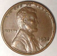 1952-P 1C LINCOLN WHEAT CENT 17SR2310-2 UNC 50 CENTS SHIPPING