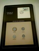 COIN SETS OF ALL NATIONS STATE OF CAMBODIA   REPUBLIC OF LAO