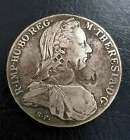 SELANGOR COUNTER MARKED ON AUSTRIA MARIA THERESA SILVER COIN