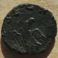 TINY LITTLE DIVO CLAVDIO ANTONINIANUS WITH EAGLE CONSECRATIO REVERSE