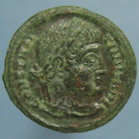CONSTANTINE THE GREAT VOT XX WITHIN WREATH AE 3 FROM SISCIA