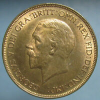 CHOICE RED & BROWN UNCIRCULATED 1931 GEORGE V PENNY