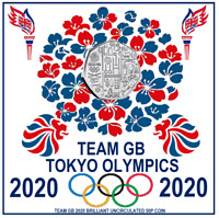 TEAM GB 2020 BRILLIANT UNCIRCULATED BRAND NEW JUST OUT 50P C