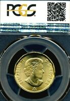 PCGS CERTIFIED MS66 CANADA CONNECTING A NATION 2017 DOLLAR