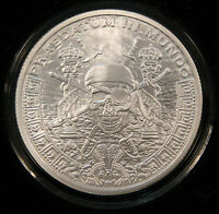 2016 SBSS PIECES OF EIGHT. HALF PROOF 1 OZ SILVER SHIELD BOX & COA 155 OF 465