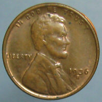 1936 S LINCOLN CENT   BROWN UNCIRCULATED