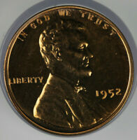 1952 PROOF LINCOLN WHEAT CENT