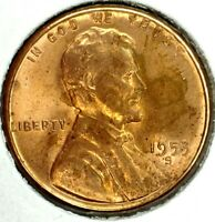 1953-S 1C LINCOLN WHEAT CENT BU 19WS1107 50 CENTS SHIPPING